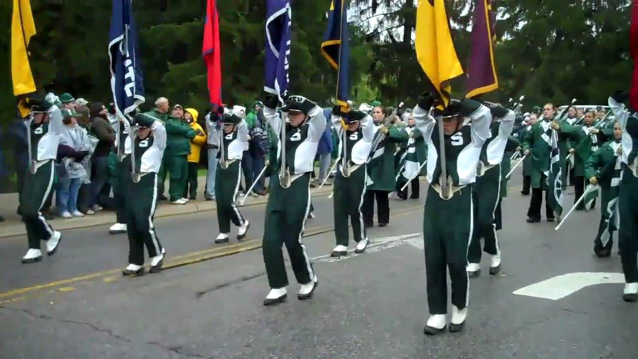 MSU Spartan Marching Band (HD): Toughest Band in the Nation - YouTube