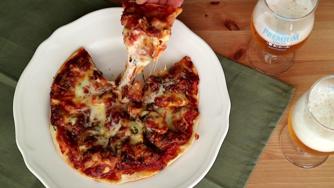 ピザ 生地 イースト なし 簡単