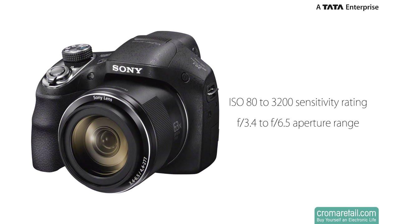 Sony Cyber-shot H400 63x Optical Zoom 720p - YouTube