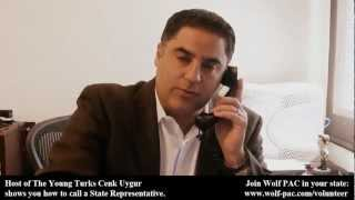 The Young Turks Cenk Uygur Shows You How to Call a State Legislator