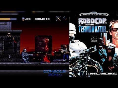 Robocop Versus Terminator (Sega Genesis) - прохождение игры