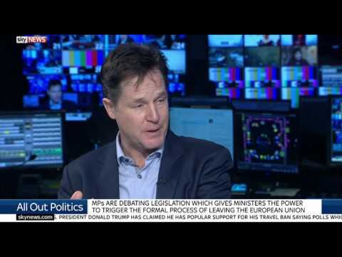 Nick Clegg: The Government is operating well beyond their mandate