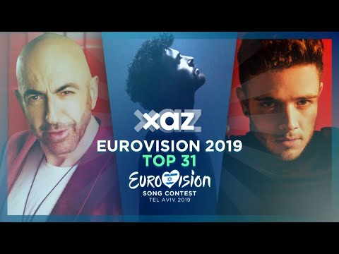 Eurovision 2019: Top 31 - NEW 🇧🇾🇸🇲🇨🇭🇳🇱