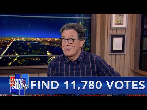 Another Perfect Call: The President's Desperate Attempts To Steal The Election Continue