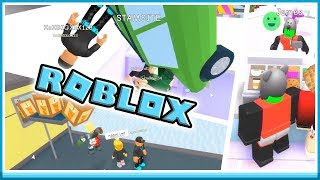 FIRST DAY AT WORK! -ROBLOX