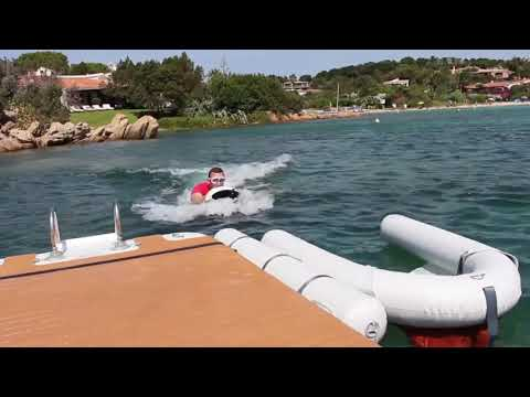 Inflatable dock rental: Nautibuoy in Porto Cervo