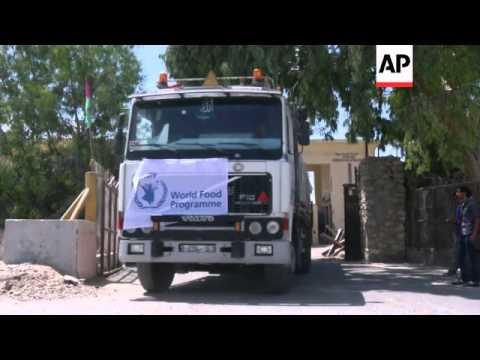 WFP aid crosses into Gaza as ceasefire appears to hold