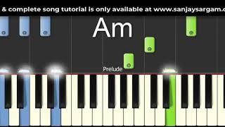 Kal Ho Na Ho - Piano Tutorial (Both Handed)