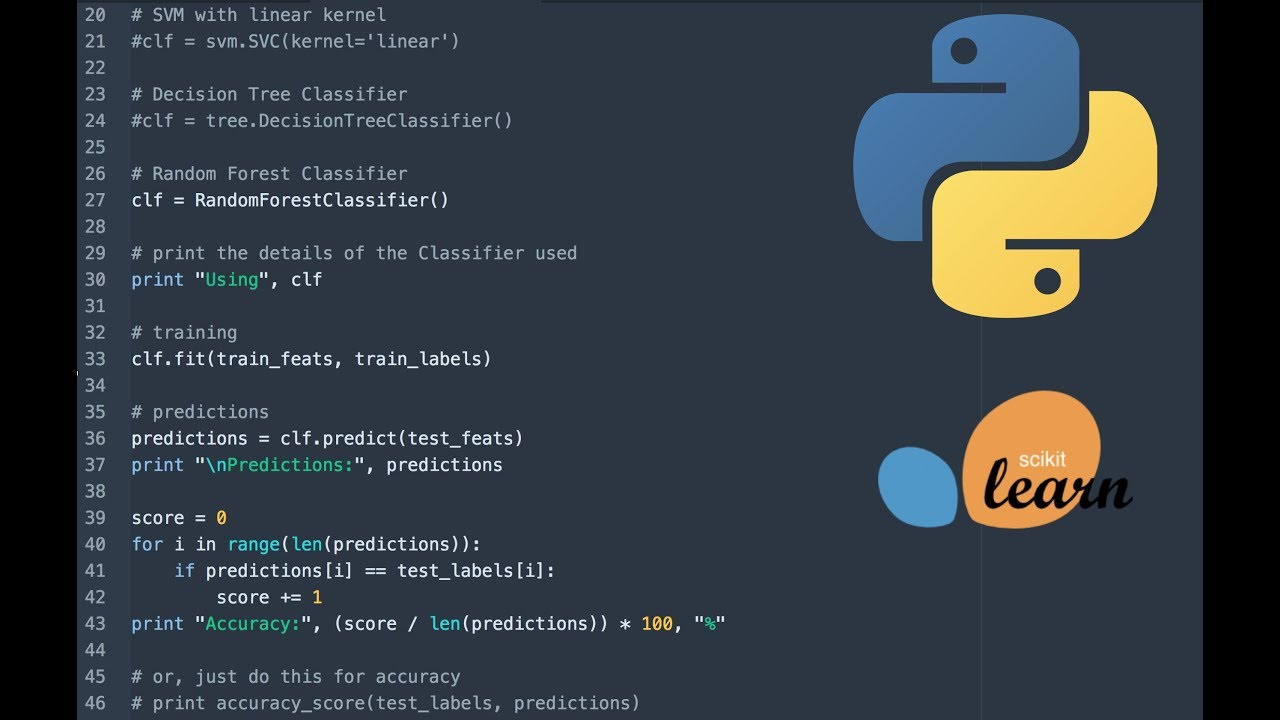 Getting started with Machine Learning using Python and ...