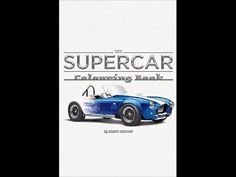 The Supercar Colouring Book - Robert Gardiner