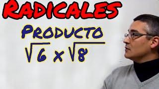 Multiplicacion de radicales de igual índice. Aprende matemáticas thumbnail