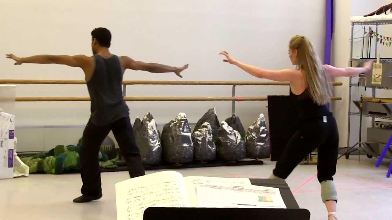 """Choreographing """"A Dancer's Dream"""""""