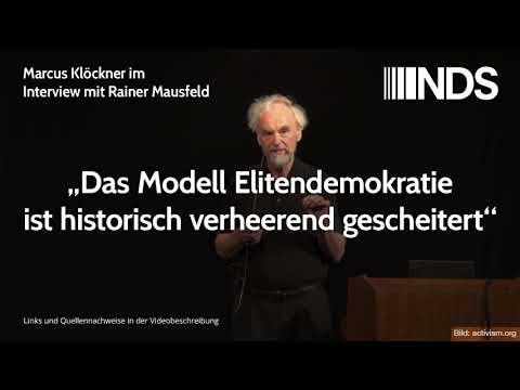 "Rainer Mausfeld: ""Das Modell Elitendemokratie ist historisch verheerend gescheitert"""