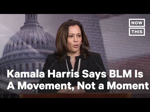Kamala Harris Says Black Lives Matter Is A Movement, Not A Moment | NowThis