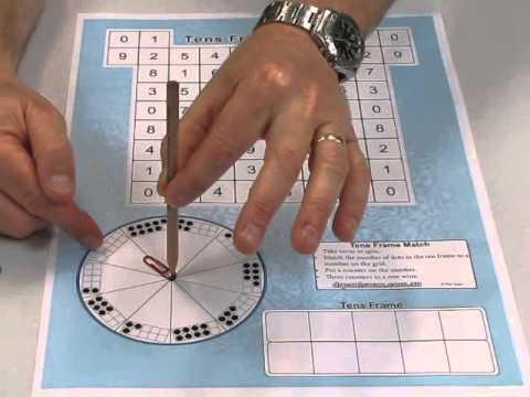 Tens Frame Match Paul Swan Games