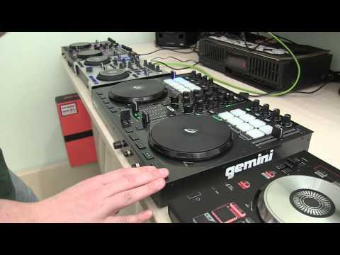 Stanton DJC.4 vs Hercules DJ Console RMX 2 vs Gemini G2V vs Pioneer DDJ-SB