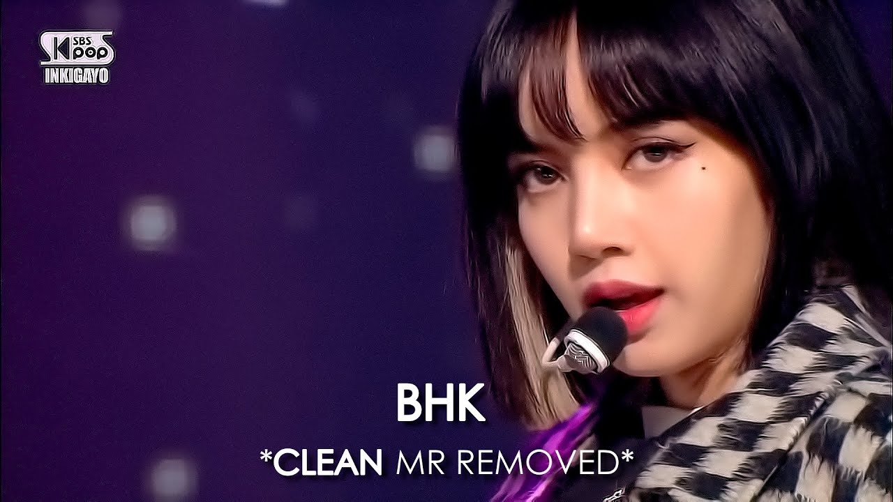[CLEAN MR Removed] 201018 BLACKPINK (블랙핑크) LOVESICK GIRLS