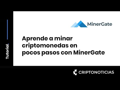 como minar bitcoin oro con minergate