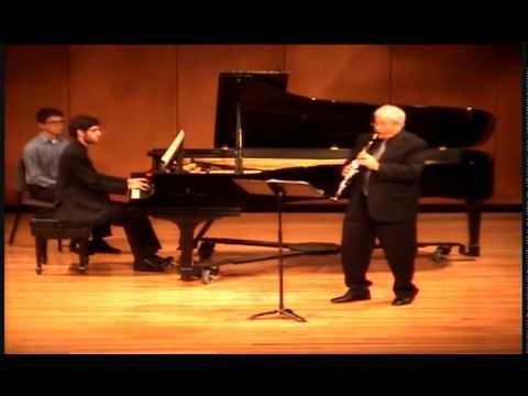 Brahms Clarinet Sonata in F minor, Op.120 No.1