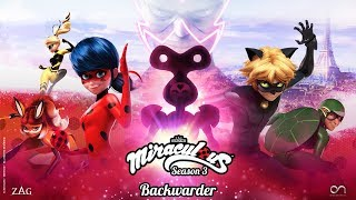 MIRACULOUS | 🐞 BACKWARDER - OFFICIAL TRAILER 🐞 | SEASON 3 | Tales of Ladybug and Cat Noir