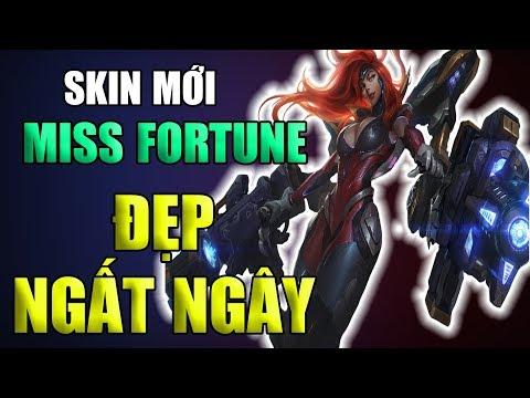 Skin Mới : Miss Forturn Vũ Khí Tối Thượng - 4 dạng biến hóa siêu đẹp | Miss Fortune Tối Thượng