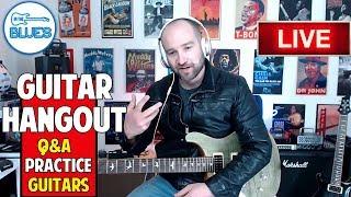 intheblues Q&A Guitar Live Stream | Amps, Guitars, Caffeine, and More!