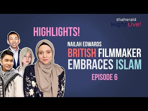 British Filmmaker Embraces Islam Highlights on Shaherald Night Live!