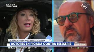 Luis Gnecco tildó de basura a teleserie y pidió disculpas  LA MAÑANA