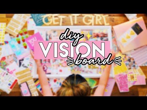 Kristina Kage - DIY Vision Board: Achieve Your 2019 Goals ✨