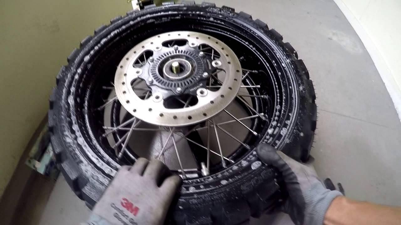 Ktm 1190 Adventure R Tire Change Rear
