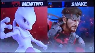 shofu (Mewtwo) vs Xzax (Snake) - Super Smash Bros. Ultimate