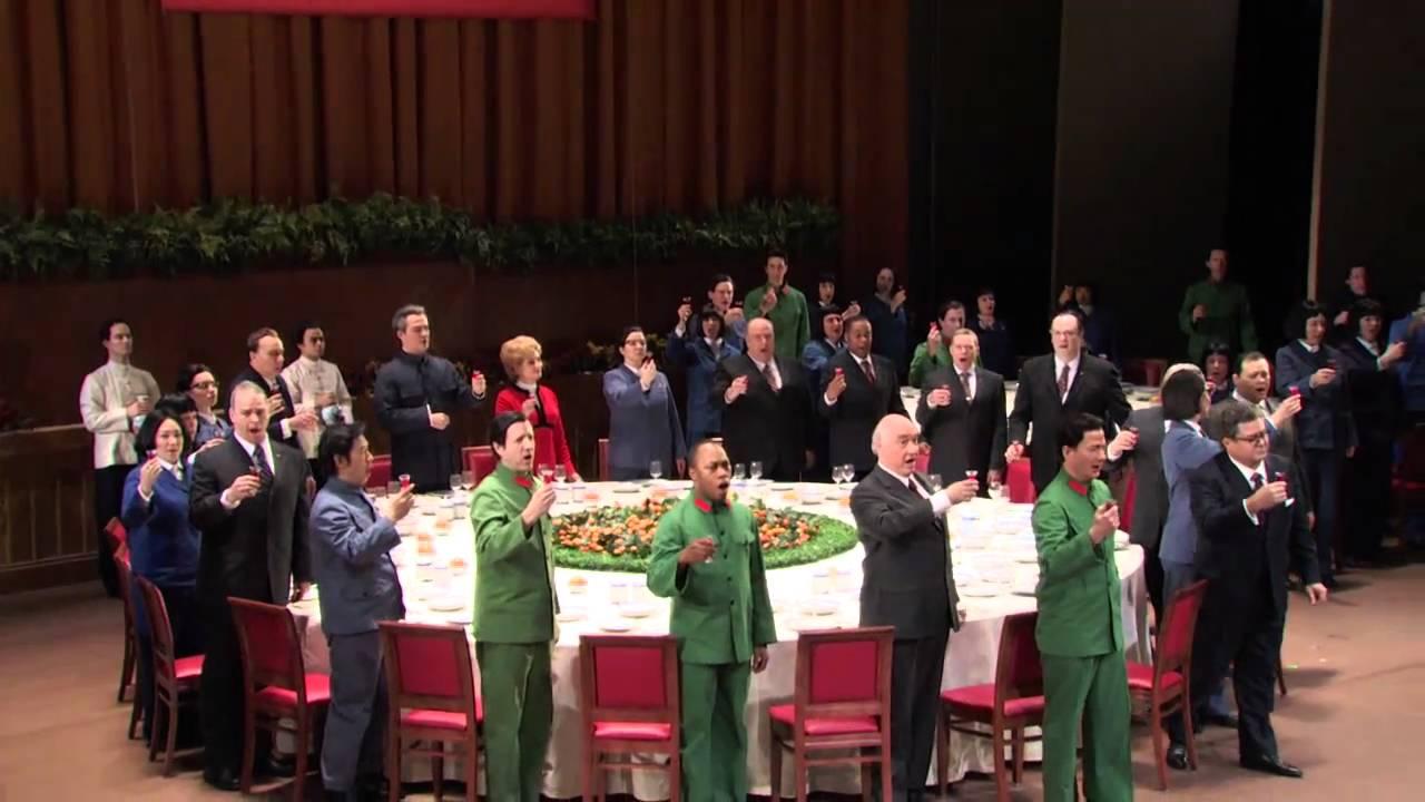 Nixon in China: Banquet Scene excerpt (Met Opera)