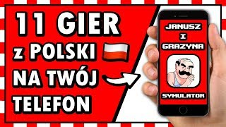 11 POLSKICH 🇵🇱 GIER na TELEFON, których 🅽🅸🅴 🆉🅽🅰🆂🆉 ◉_◉