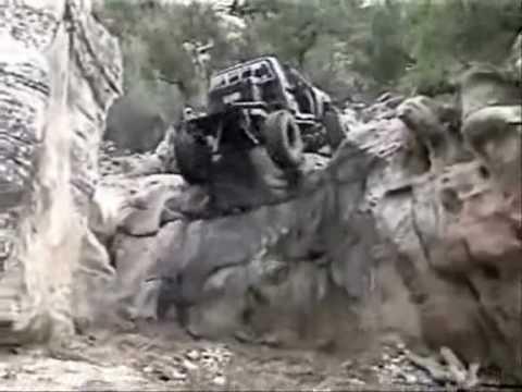 four-wheel drive adventure