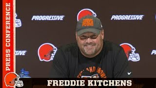 "Freddie Kitchens: ""We've Got Our Work Cut Out For Us"" 
