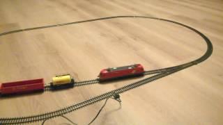 Железная дорога - Набор Piko 57170(Купил на Авито стартовый набор Piko 57170 - Грузовой поезд с аналоговым управлением. Предыдущий хозяин сказал,..., 2017-01-31T17:44:27.000Z)