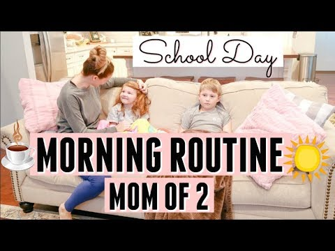 MORNING ROUTINE 2019   MOM OF 2   MORNING MOTIVATION   Amy Darley