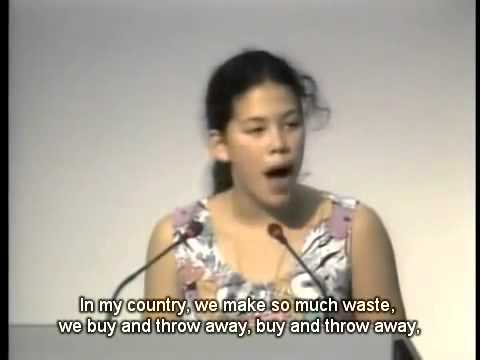 The Girl Who Silenced the World for 5 Minutes!  English Subs