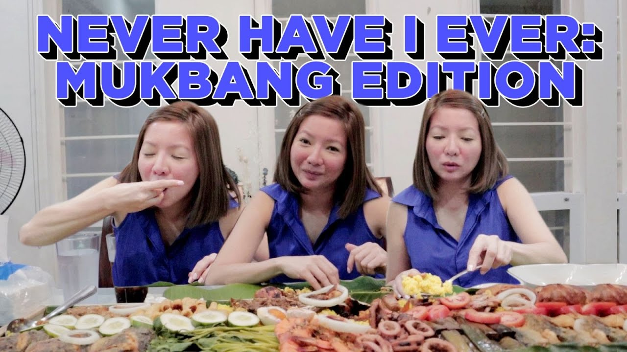 NEVER I HAVE I EVER: Mukbang Edition | Maui Anne Taylor