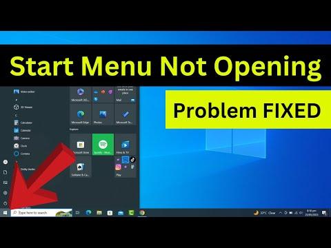 fix start button windows 10