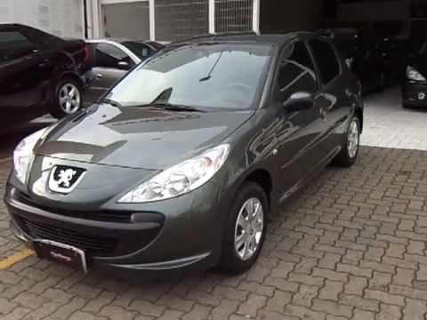 Peugeot 207 XR 14 8v (Flex) 4p  2010  YouTube