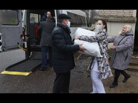 Хроника пандемии коронавируса в Витебске. 2 апреля. Инфекционная больница