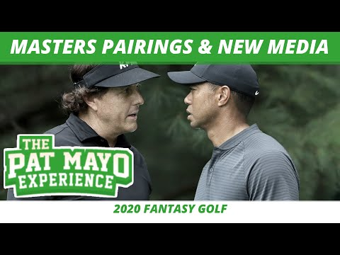 Dream 2020 Masters Sunday Pairings, PGA App, New vs Old Golf Media, Life after Tiger Woods