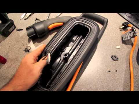 Chevy Volt 120v to 240v charger conversion