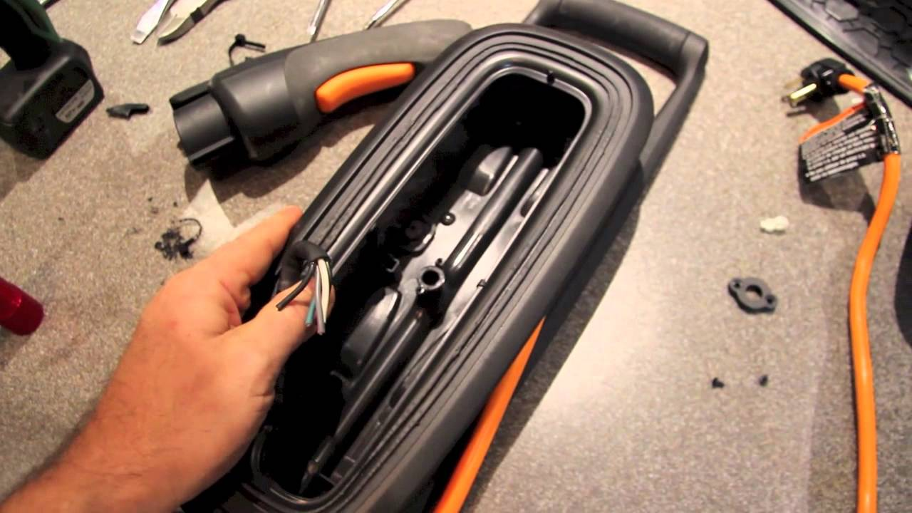 medium resolution of voltec chevy volt 120v to 240v charger conversion youtube on car charger repair case wiring voltec car charger wiring diagram
