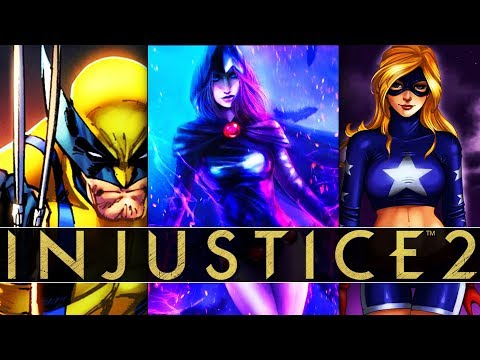 Raven Premier Skin For Enchantress, TMNT Gear, Stargirl, And X-Men Guest? (Injustice #qna)