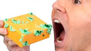 Eating Moldy Cheese Food!