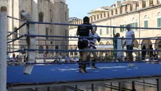 23 Giugno 2012. Andrea De Filippis vs Filippo Olivieri (Kick Boxing Light)