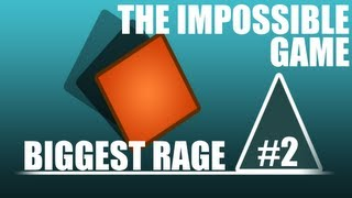 BIGGEST RAGE EVER - The Impossible Game 2/2 (Dutch Commentary)