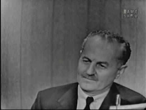 What's My Line?  Darryl F. Zanuck; Sir Cedric Hardwicke panel Oct 5, 1958